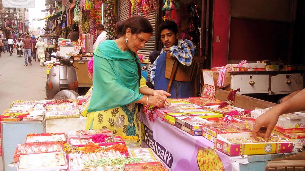 RAKHI  FESTIVITY IN SRINAGAR