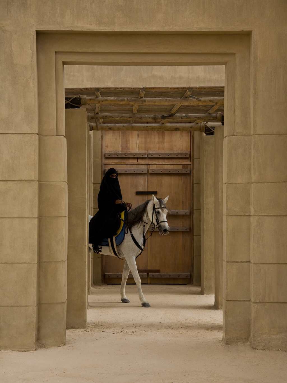 This woman was an acquaintance of the photographer's in Dubai Copyright: Sebastian Farmborough