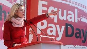 Manuela Schwesig at Equal Pay Day 2015