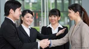 Frauen Asien arbeiten