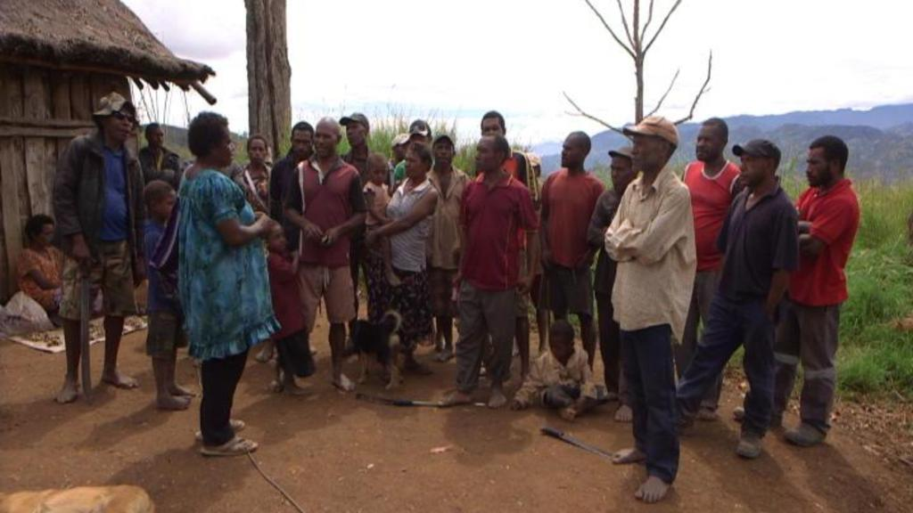 Explanations have been given to people in the villages in PNG (DW)