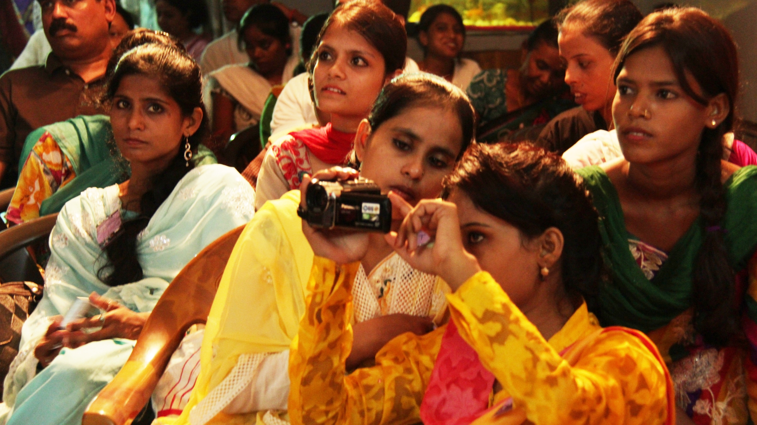 Muslim women in Lucknow are introduced to information technology, filmmaking and photography as part of an innovative feminist leadership programme.