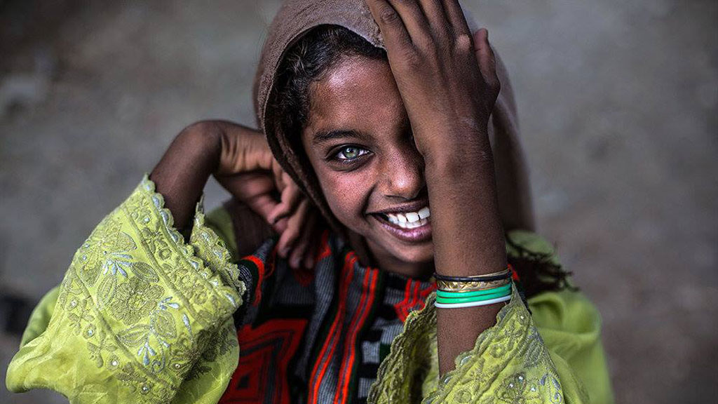 An Iranian Girl from Balochistan © MEHR
