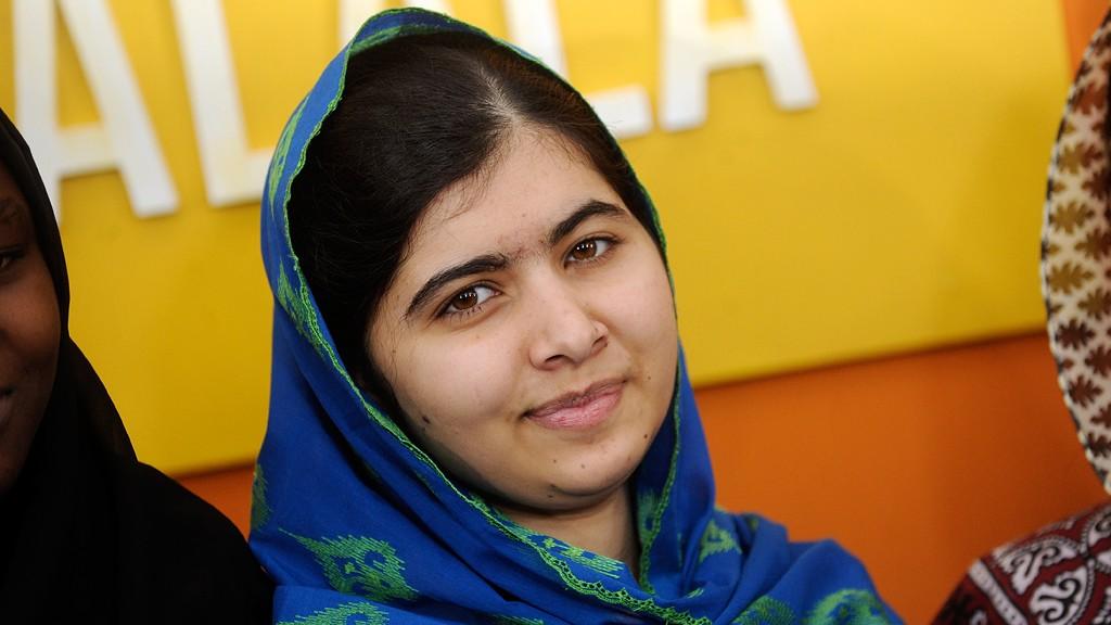 Malala Yousafzai © picture-alliance/Geisler/D. Van Tine