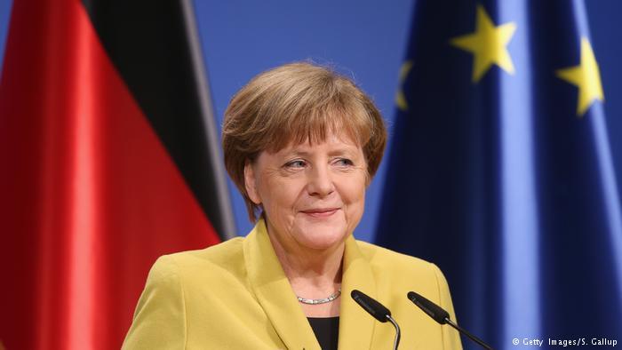 Merkel 4 mal
