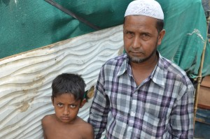 Ajaz Ahmad and Mohammed Haroon - both who fled Mayanmar because their property was seized and relatives attacked by the military junta. © DW/Murali Krishnan