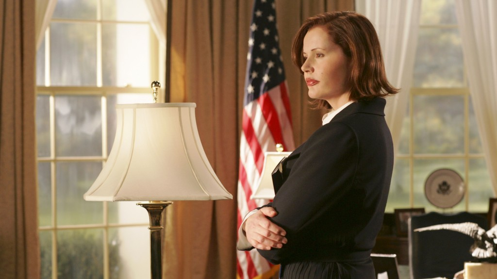 Although Geena Davis essayed the role of President of United States of America in TV show, Commander-in-Chief, she believes that women are far less likely to be a judge or doctor or in any other professional or leadership position.