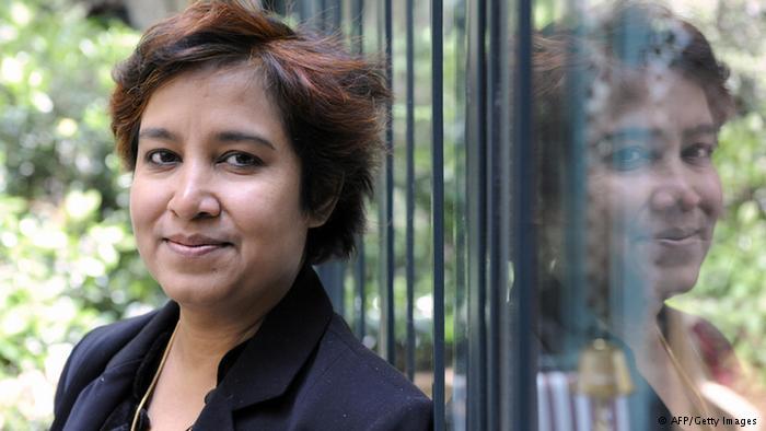 Bangladeshi Author Taslima Nasreen