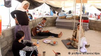 Thousands of Yazidis have fled 'IS'
