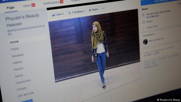 A Muslim beauty blogger is challenging discrimination in Myanmar