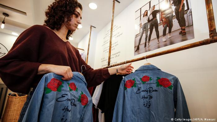 72411340 'Not your habibti': Palestinian designer seeks to empower women January 15,  2019