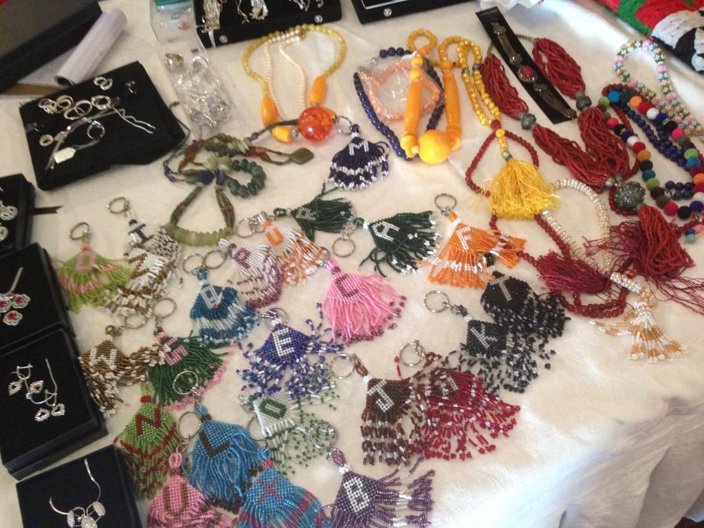 Crafts at display at the women entrepreneurs' fair