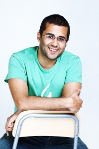 "Bhagat's most popular books include ""Five-point someone,"" ""Two states"" and ""One night at a call center."""